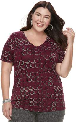 Apt. 9 Plus Size Essential V-Neck Tee