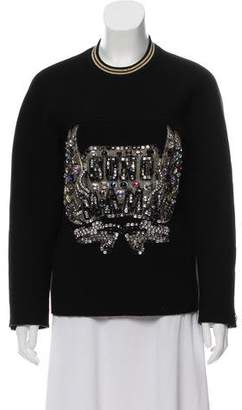 3.1 Phillip Lim Embellished Crew Neck Sweater