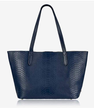 GiGi New York Navy Teddie Tote