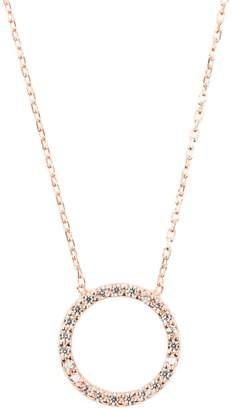 Rosegold Latelita - Sparkling Halo Necklace