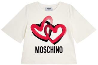 Moschino Logo Long Sleeve T-Shirt