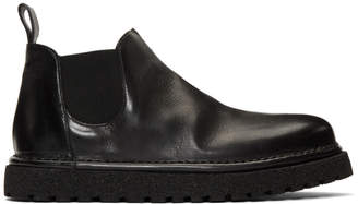 Marsèll Black Pallottola Pomice Beatles Boots
