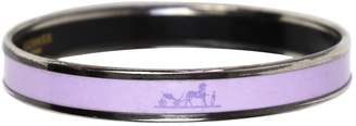Hermes Purple Silver Plated Bracelets