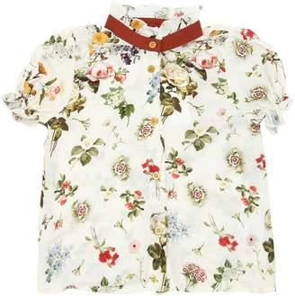 Floral Printed Viscose Shirt