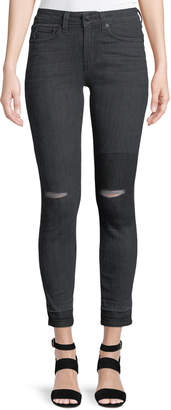 Derek Lam 10 Crosby Devi Authentic Skinny Distressed Jeans