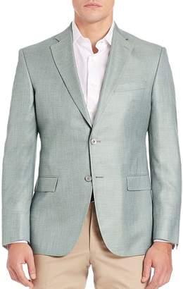 Jack Victor Men's Two-Button Blazer