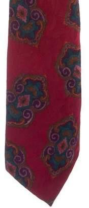 Liberty of London Designs Ornate Print Silk Tie