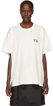 Y-3 White Signature T-Shirt