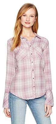 William Rast Women's Mercer Slim Fit Shirt
