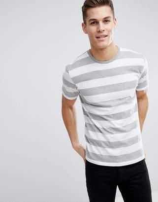 Next Stripe T-Shirt In White
