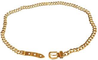 Gucci Vintage Gold Metal Belts
