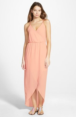 Junior Women's Lush Tulip Hem Maxi Dress $42 thestylecure.com