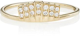 Jennie Kwon Women's Fan Ring $895 thestylecure.com