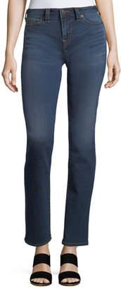 True Religion Billie Mid-Rise Straight-Leg Jeans