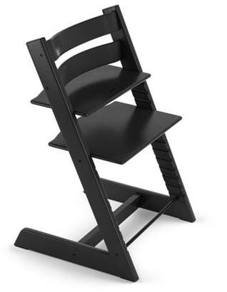 Stokke Tripp Trapp Adjustable Grow with Baby High Chair Black