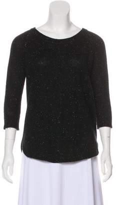 ATM Anthony Thomas Melillo Cashmere Scoop Neck Sweater
