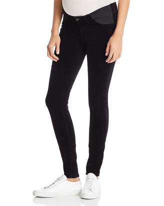 b02fe5fcf8b65 J Brand Mama J Super Skinny Velvet Maternity Jeans in Black