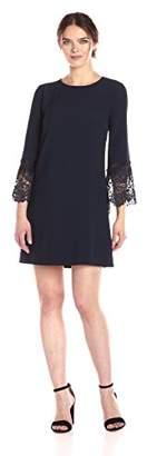 Tahari by Arthur S. Levine Women's Sleeved Lace Sheath Dress