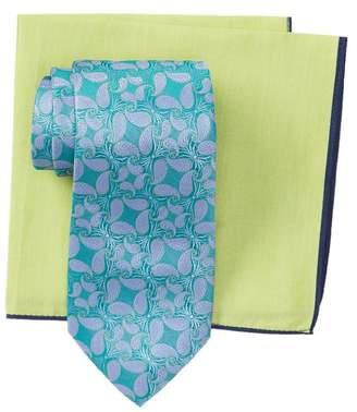 e0eddd4f55ee9 Ted Baker Tossed Paisley Tie & Pocket Square Set