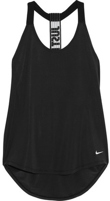 Nike - Elevate Stretch-jersey Tank - Black $40 thestylecure.com