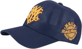 6063a3c9811 RaOn G112 Men Summer Cool MQUM Tattoo Mesh Cap Club Plus Big Size XL XXL Hat