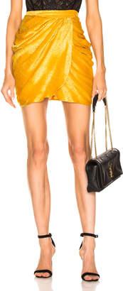 Dundas Drape Mini Skirt
