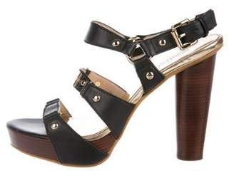 MICHAEL Michael Kors Platform Ankle Strap Sandals