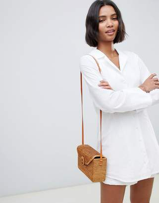 Zulu & Zephyr beach shirt in white