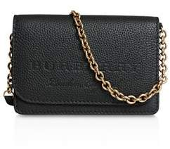 Burberry Hampshire Embossed Leather Crossbody