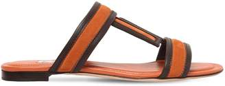 Tod's 10mm Suede Sandals