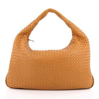 Bottega Veneta Yellow Leather Handbag