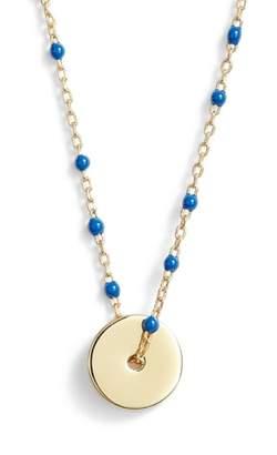 Argentovivo Enamel Bead Pendant Necklace