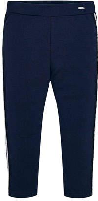 Mayoral Girl's Side Stripe Leggings, Size 4-7