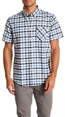 Ben Sherman Oxford Check Short Sleeve Regular Fit Shirt