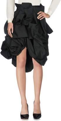 Yohji Yamamoto Knee length skirts