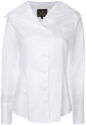 Vivienne Westwood oversized collar shirt