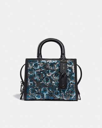 Coach Rogue 25 With Leather Sequin