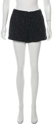 Rag & Bone Mid-Rise Tweed Shorts