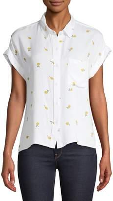 Rails Printed Short-Sleeve Shirt