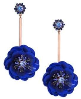 Kate Spade Snowy Nights Crystal Linear Earrings