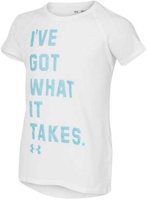 Under Armour Girls Got What It Takes Tee