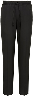 Banana Republic Slim Lightweight Drawstring Suit Pant