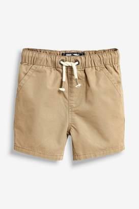 Next Boys Stone Pull-On Shorts (3mths-7yrs) - Natural