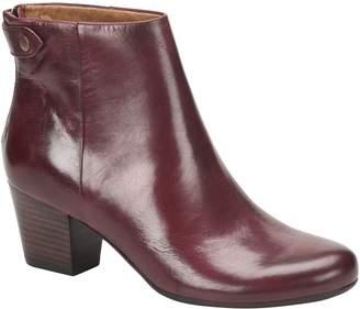 Comfortiva Leather Ankle Booties - Alandra