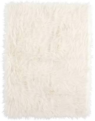 Pottery Barn Teen Furific Faux-Fur Throws, 45X60, Himalayan Mauve Blush