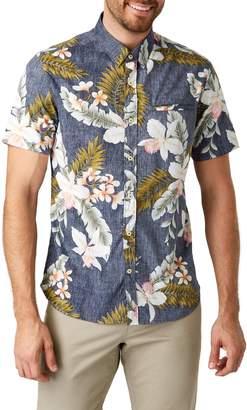 7 Diamonds Diamond Meadows Slim Fit Cotton Sport Shirt