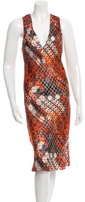 Jean Paul Gaultier Sleeveless Printed Dress $130 thestylecure.com