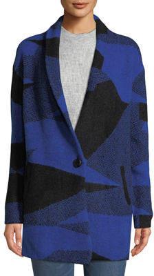 Dex One-Button Sweater Cardigan