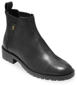 Cole Haan Grand OS Calandra Leather Ankle Boots