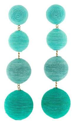 Rebecca de Ravenel Classic Four Drop Earrings